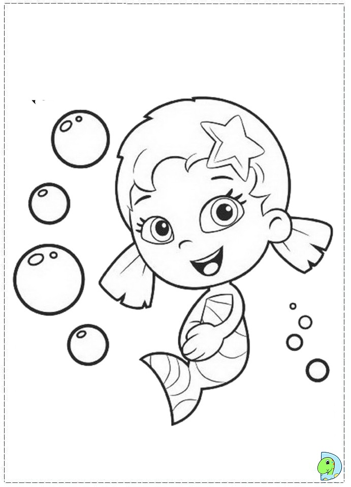 Bubble Guppies Coloring Pages For Kids