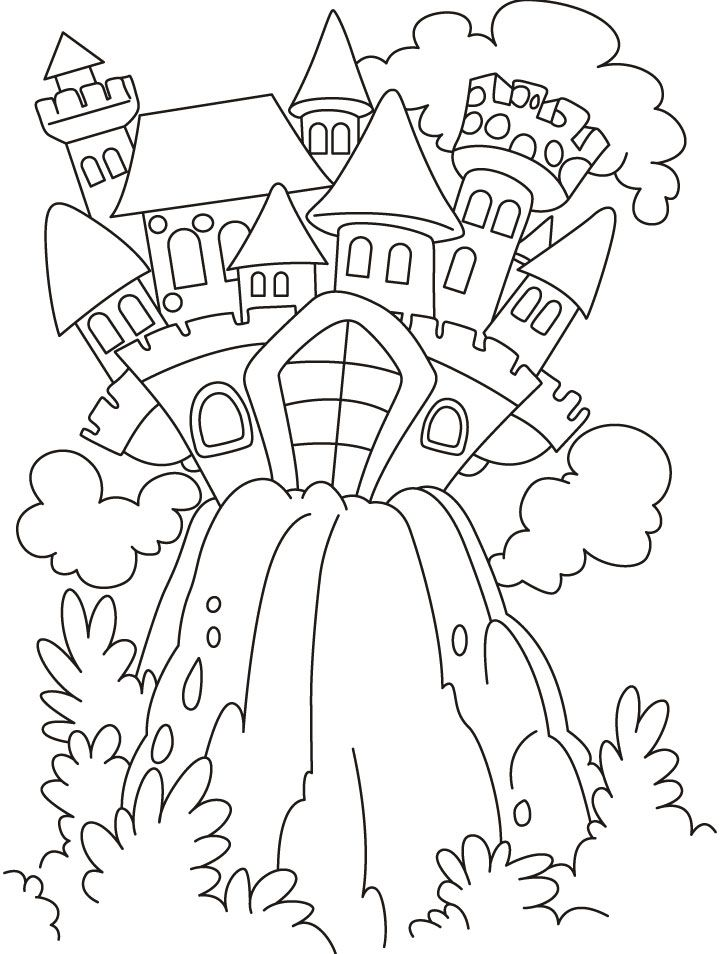 Fairy Tale Coloring Pages Kidsuki