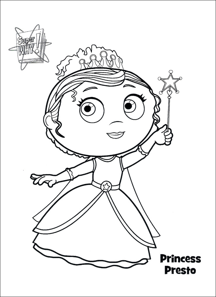 super why printable coloring pages - photo#6