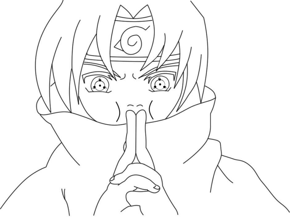 Sasuke Coloring Pages Doll Palace Kids Colouring 267869
