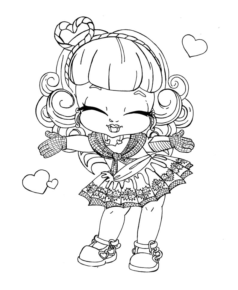 Baby Monster High Coloring Pages Az Coloring Pages High Babies Coloring Pages