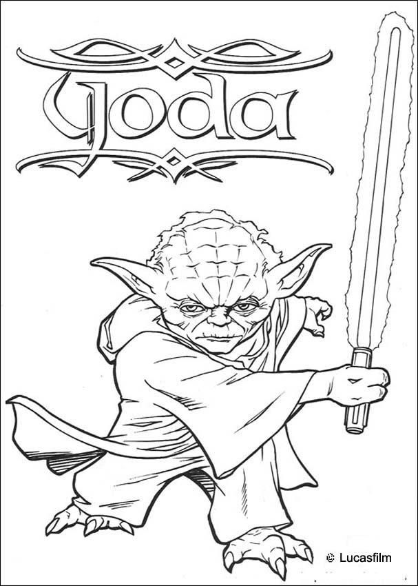 Disney Coloring Pages Star Wars : Star wars drawings az coloring pages