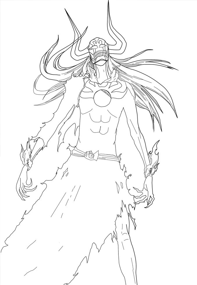 Coloring Pages Bleach - Coloring Home