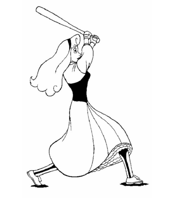 Coloring pages the sleeping beauty - picture 10