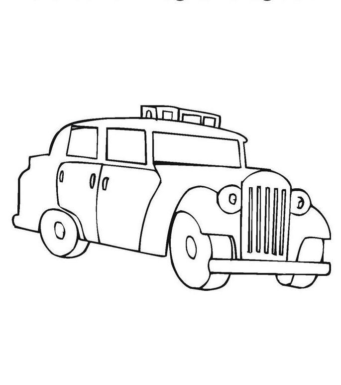dodge charger coloring pages - download dodge charger police car coloring page or print