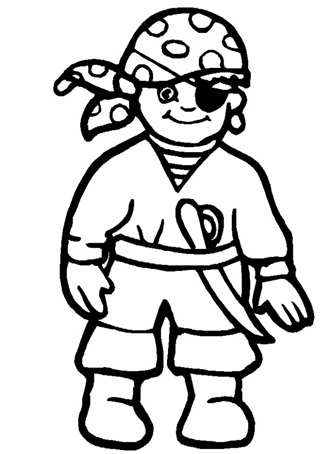 Free Pirate Coloring Pages For Kids - AZ Coloring Pages