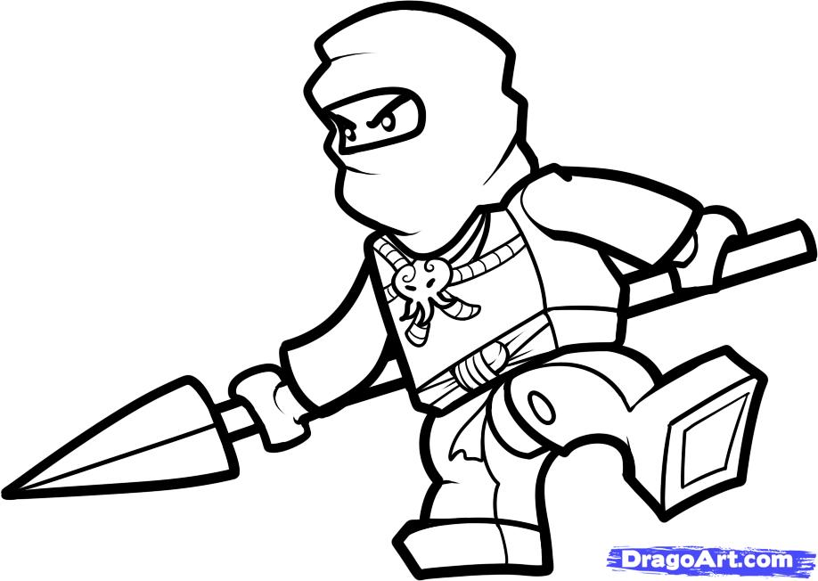 Free printable lego ninjago coloring pages az coloring pages for Free printable lego coloring pages for kids