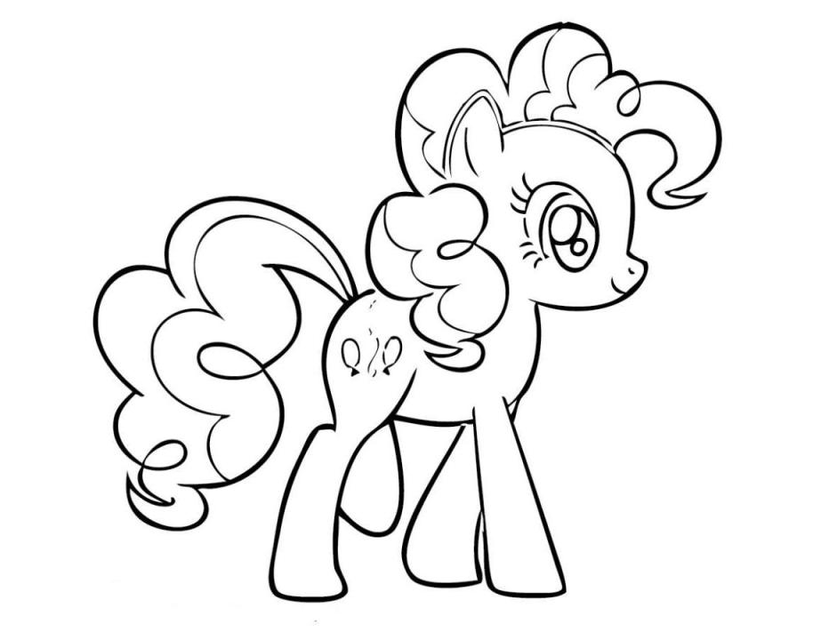 My Little Pony Coloring Pages Pinkie
