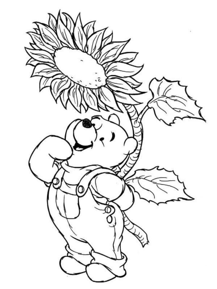 Winnie the pooh thanksgiving pictures az coloring pages for Winnie the pooh thanksgiving coloring pages