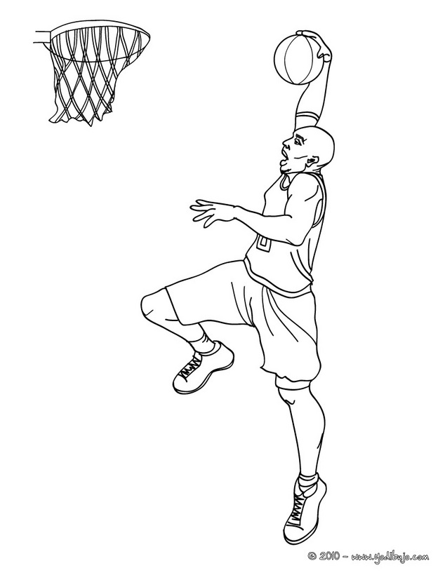 Nba Coloring Pages Of Kobe