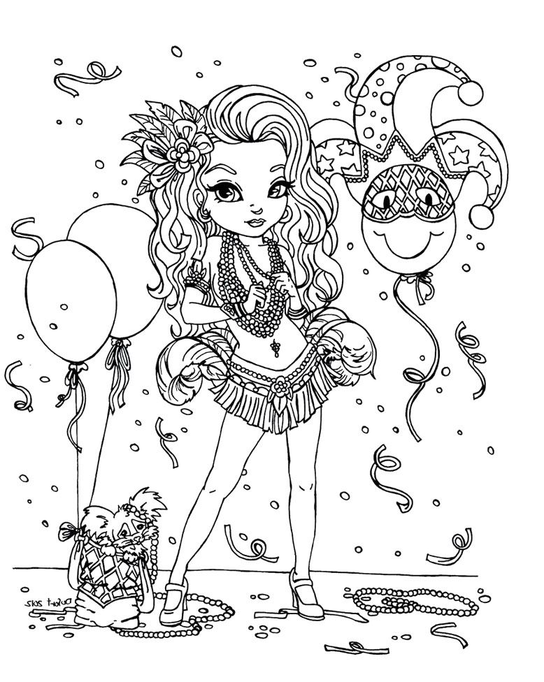 Mardi Gras Coloring Pages For Kids Az Coloring Pages Mardi Gras Coloring Pages