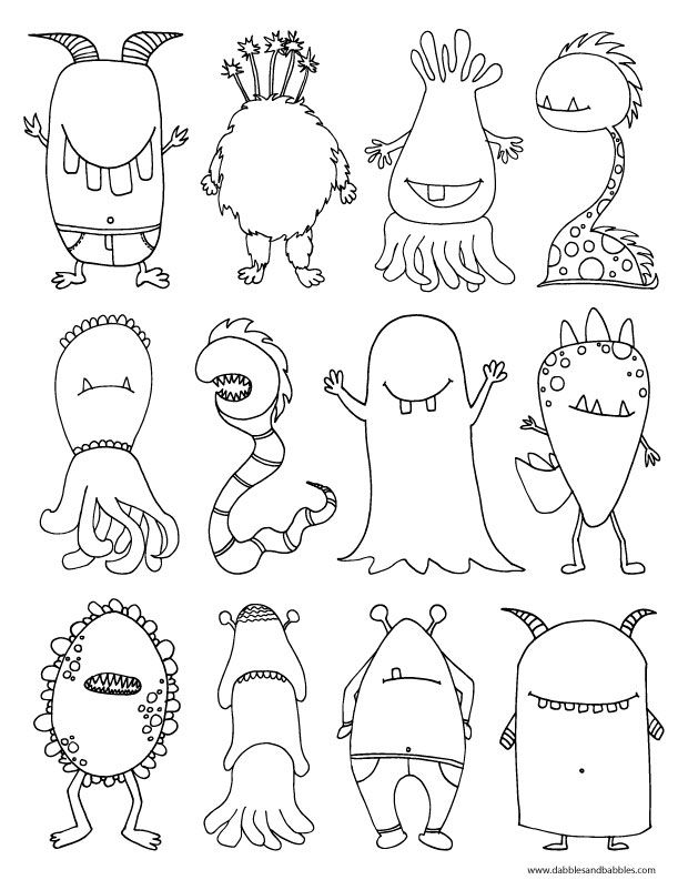 Blank Face Coloring PageAZ Coloring Pages