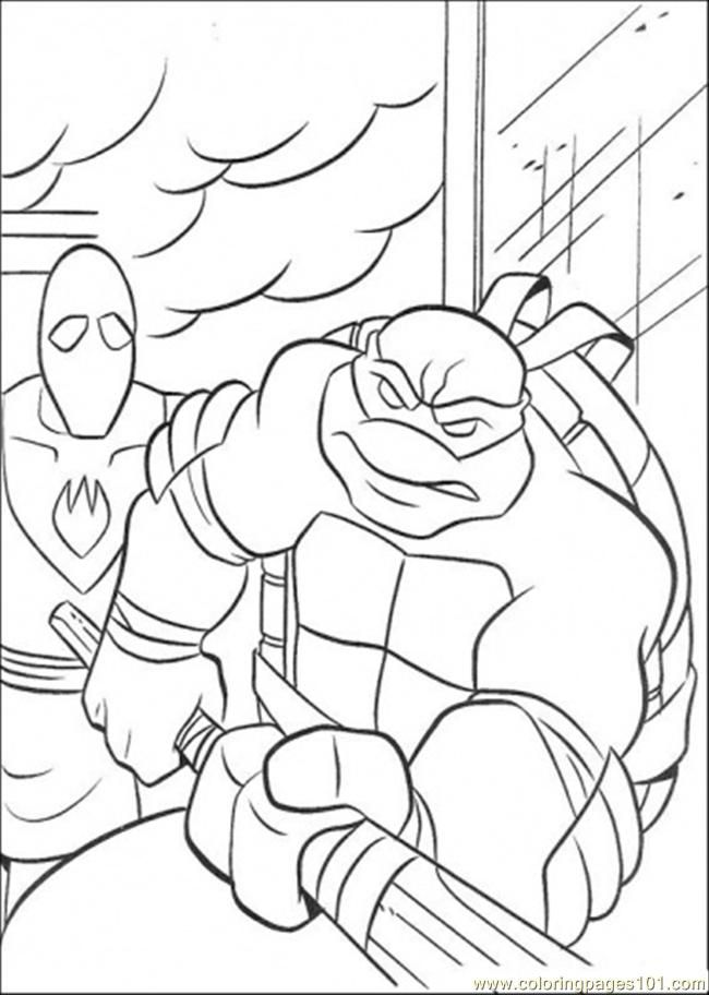 Ninja Turtles Coloring Pages Donatello Images & Pictures - Becuo