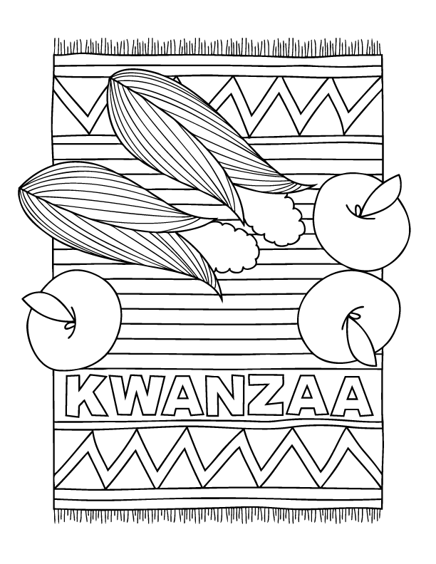december coloring pages to print - photo#30