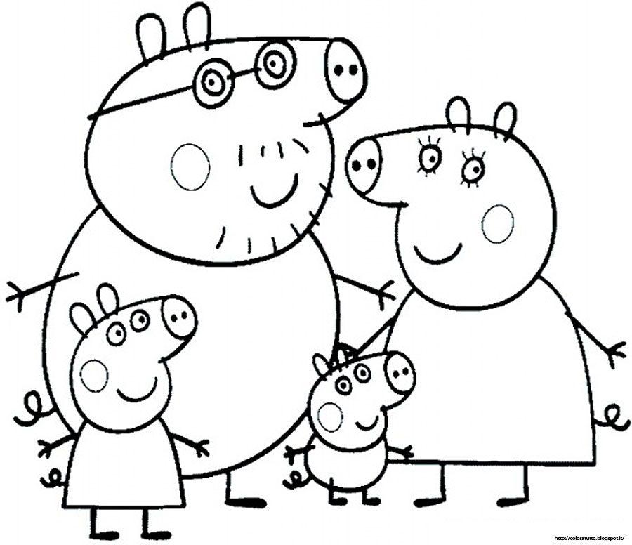 Peppa Pig Book Coloring Home