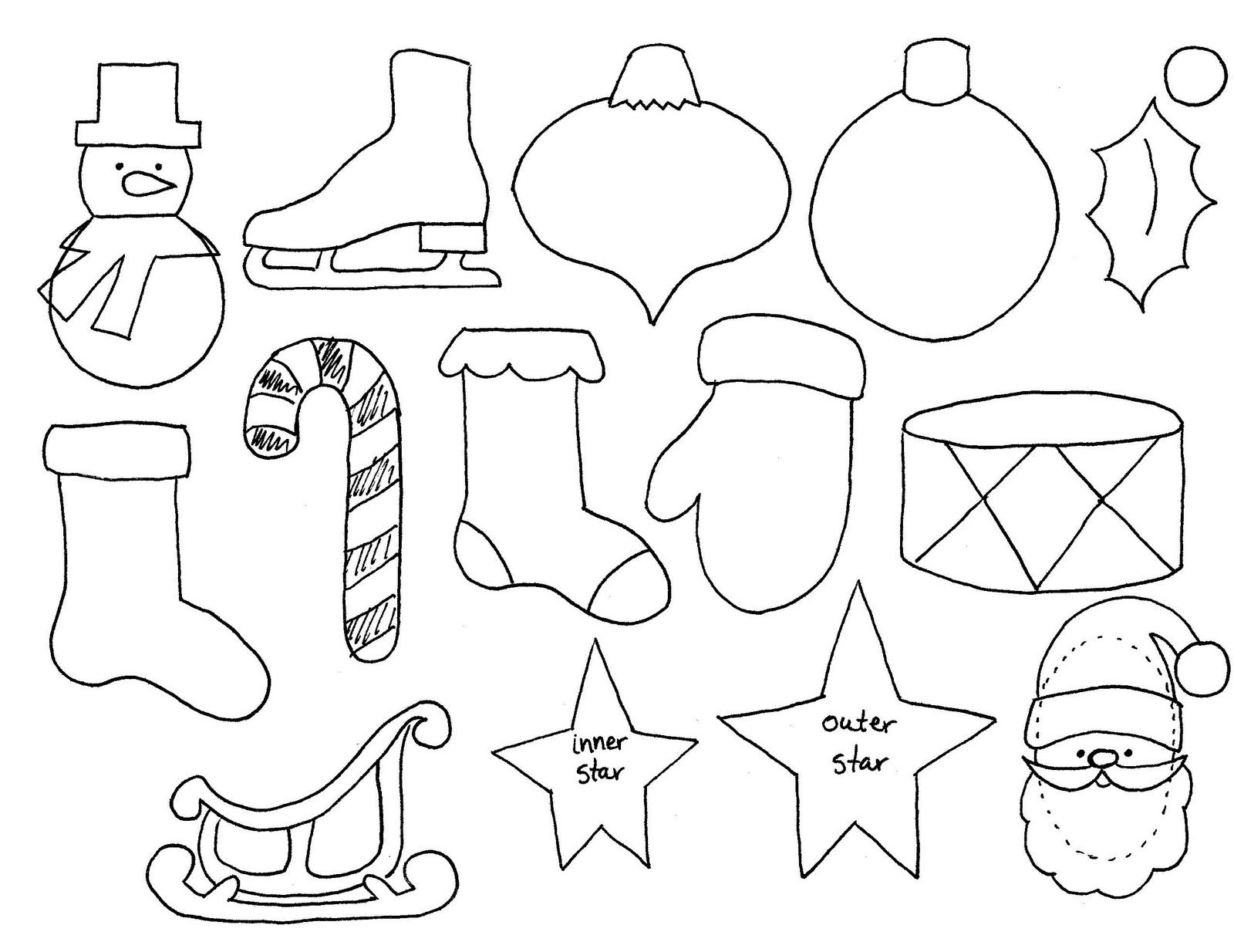 Printable Tree Ornament Crafthubs Coloring Home Tree Coloring Sheet Pdf