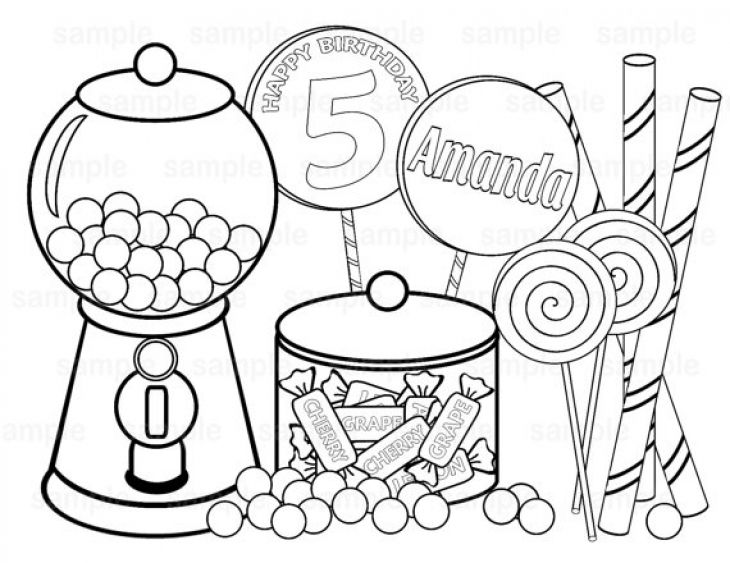 candy corn coloring pages - photo#49