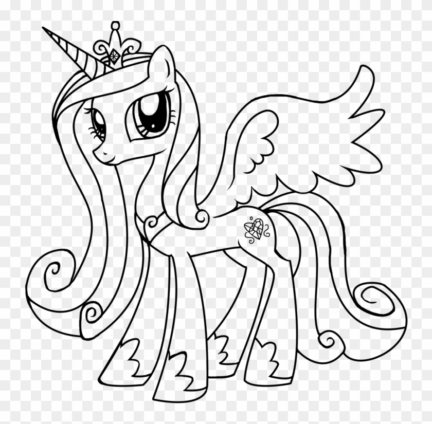 - Princess Cadance Coloring Pages - Coloring Home