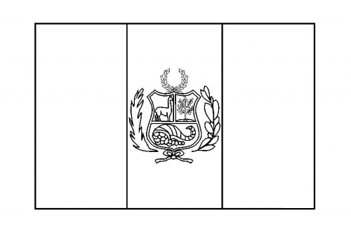 Peru Flag Coloring Page Az Coloring Pages Peru Flag Coloring Page