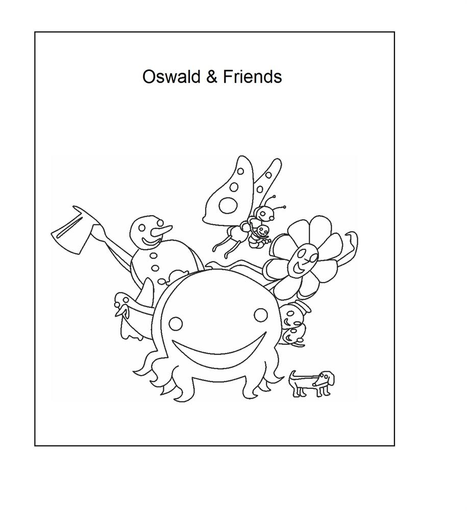 henry the ocotopus coloring pages - photo#10