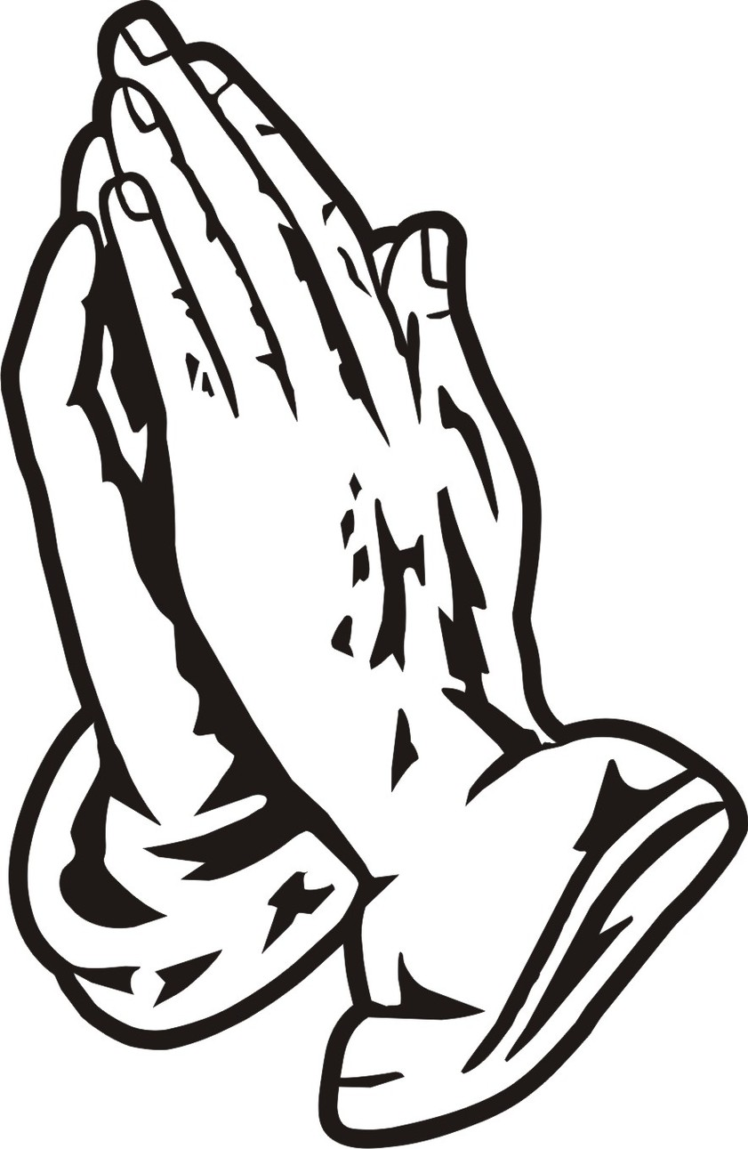 praying hands coloring pages - coloring pages praying hands coloring home