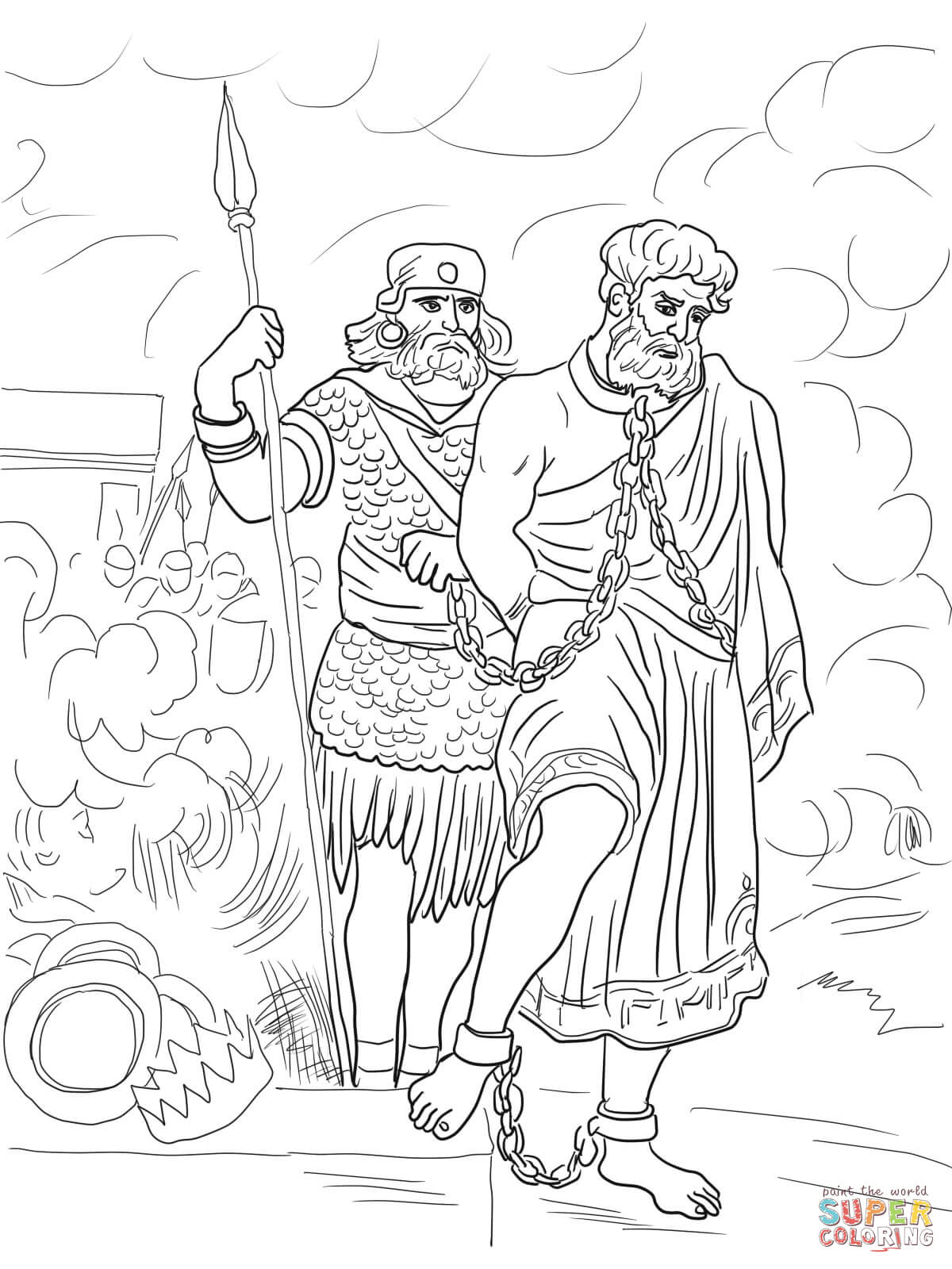 jeremiah images for coloring pages   Prophet Jeremiah Coloring Pages - Coloring Home