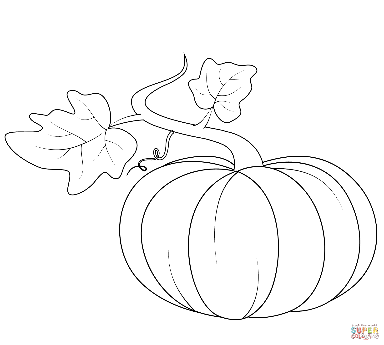 Coloring Pages For Kindergarten Pumpkin Patch Coloring