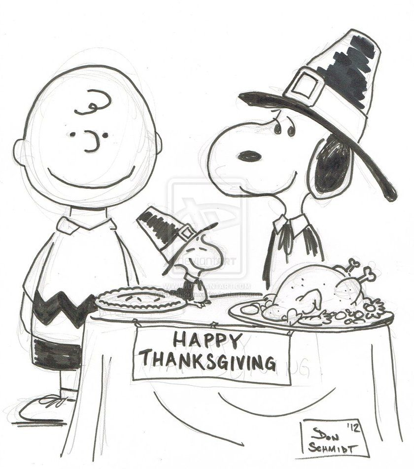 peanuts coloring pages thanksgiving - photo#2