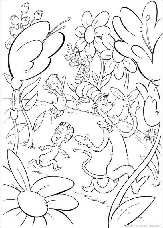 Dr Seuss Coloring Pages - GetColoringPages.com - Coloring Home