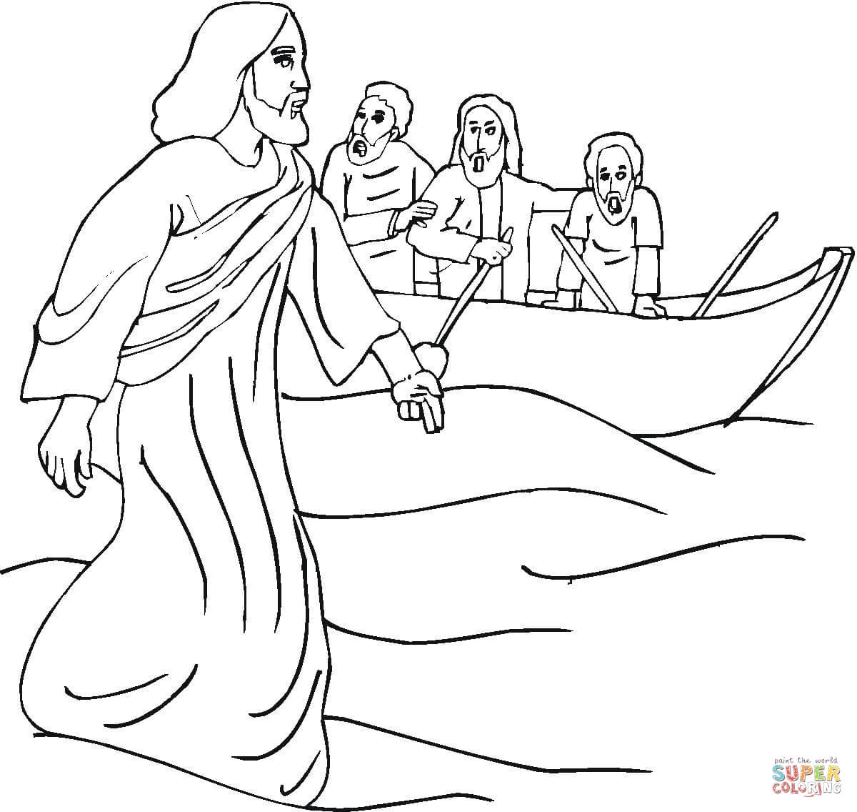 miracle coloring page coloring home