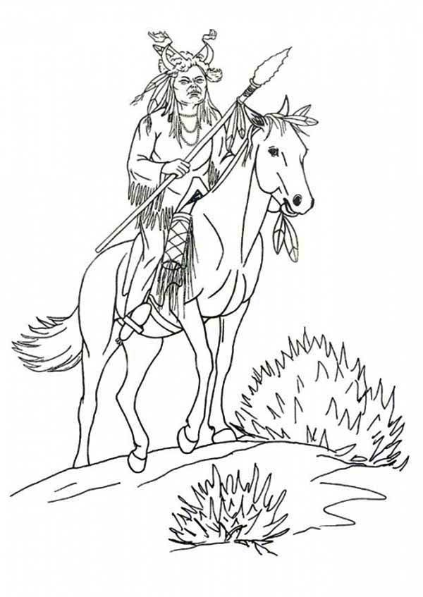 native american coloring pages older - photo#50