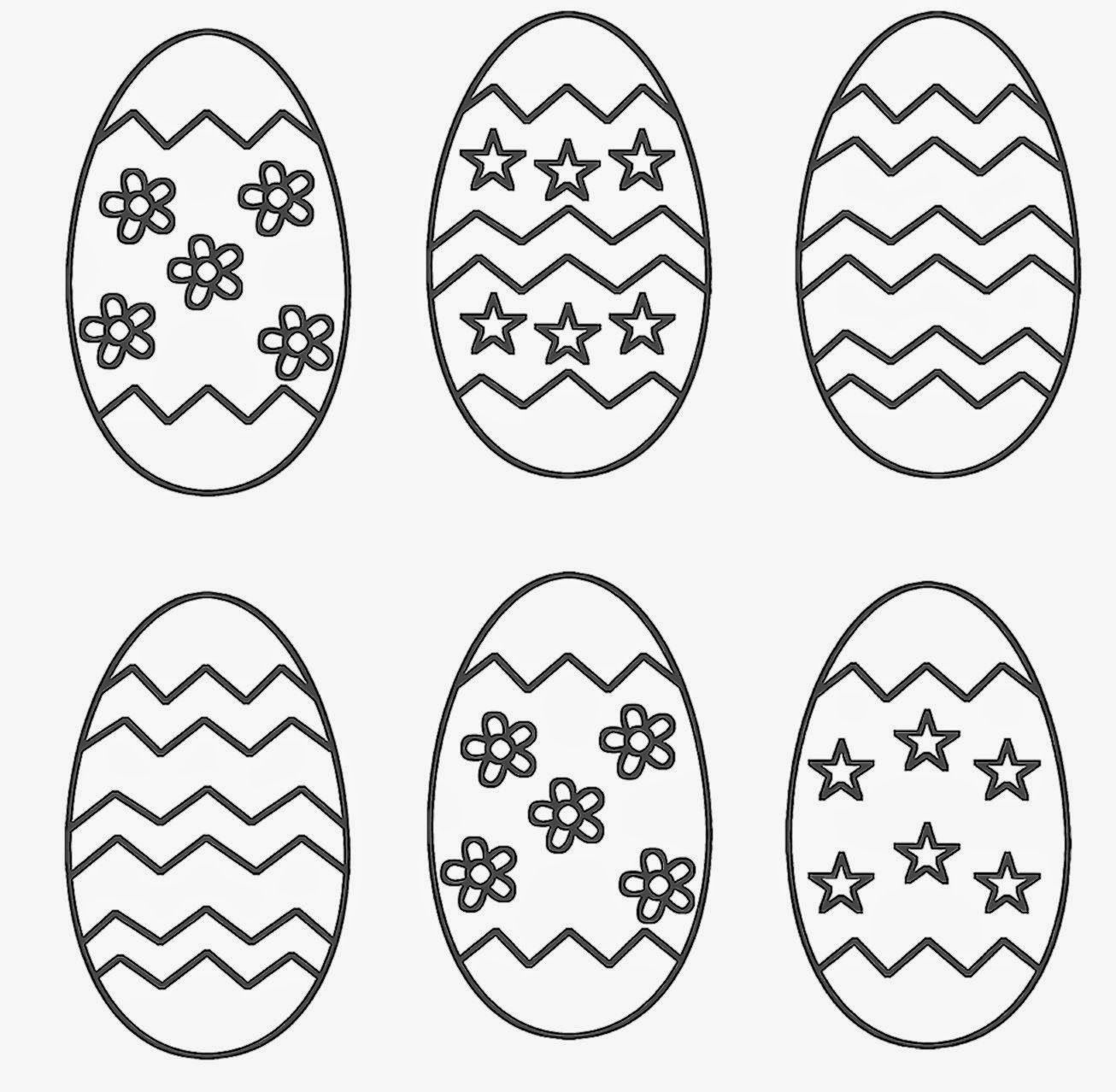 Hard Easter Coloring Pages