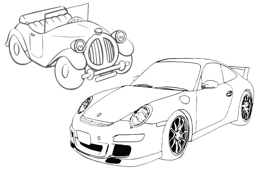 fast and furious 7 coloring pages eliolera - Fast Furious Coloring Pages