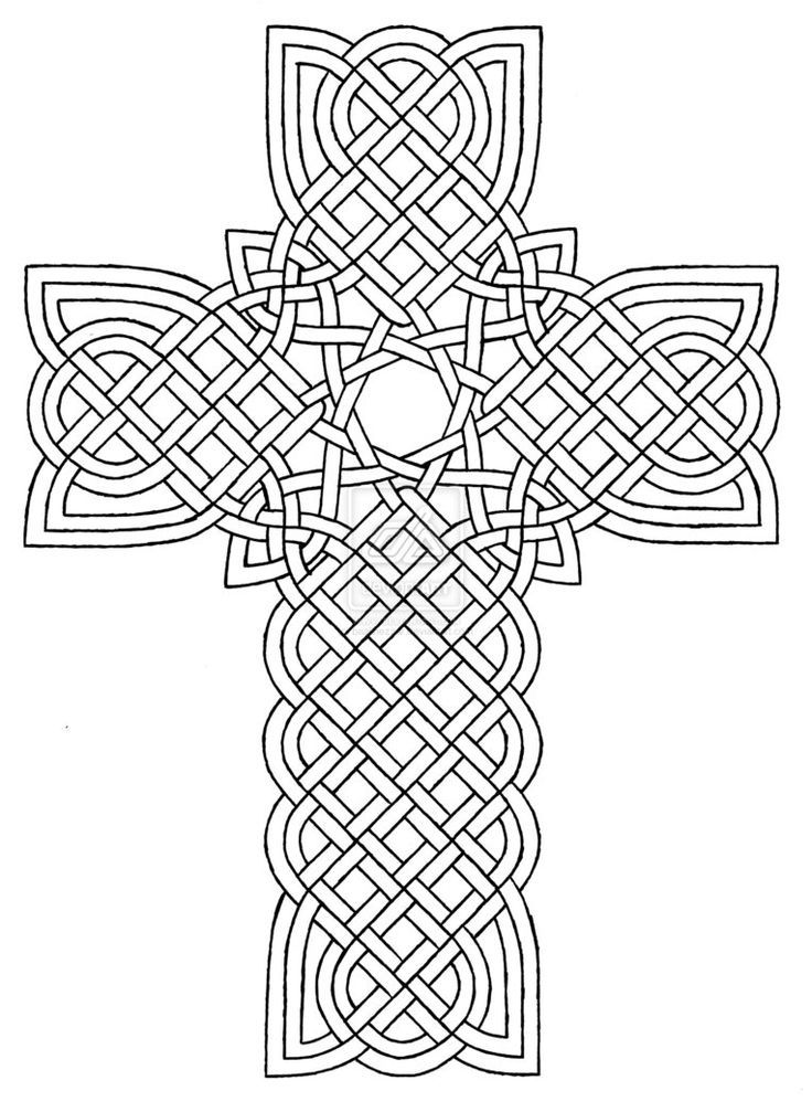 Celtic Designs Coloring Pages - Coloring Home