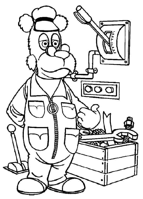 Coloring Book For Engineers : The Bearboat Coloring Pages AZ Coloring Pages