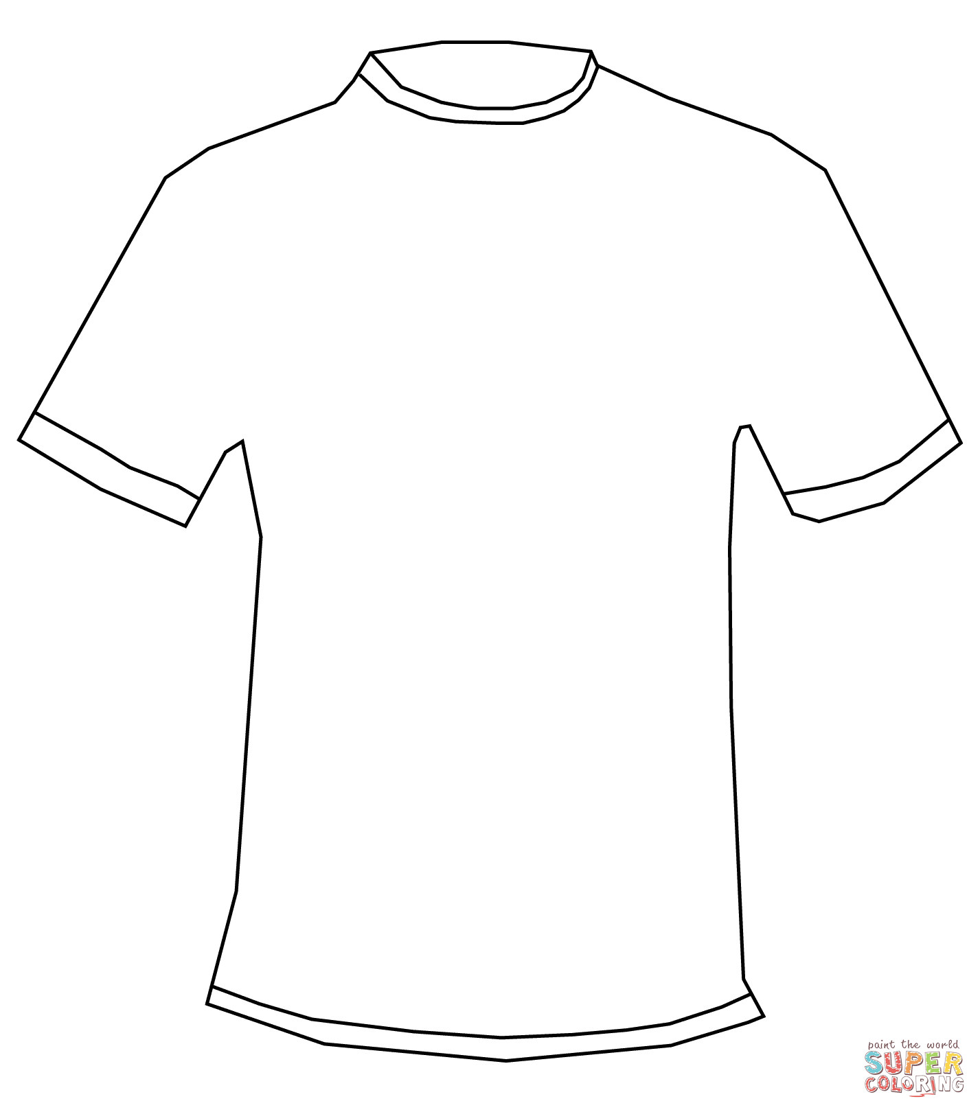 T shirt coloring page coloring home for How to print in t shirt at home
