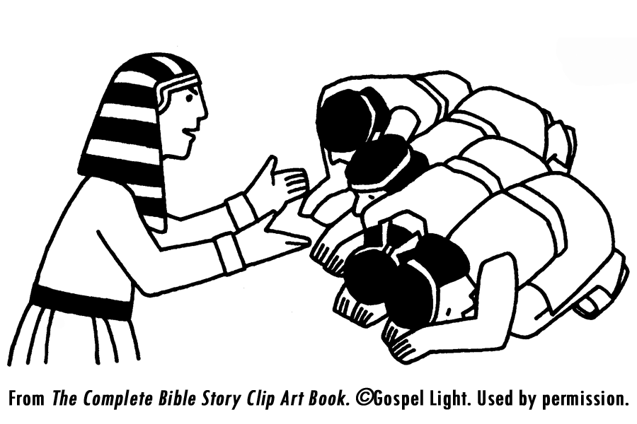 Coloring Pages Joseph Forgives His Brothers