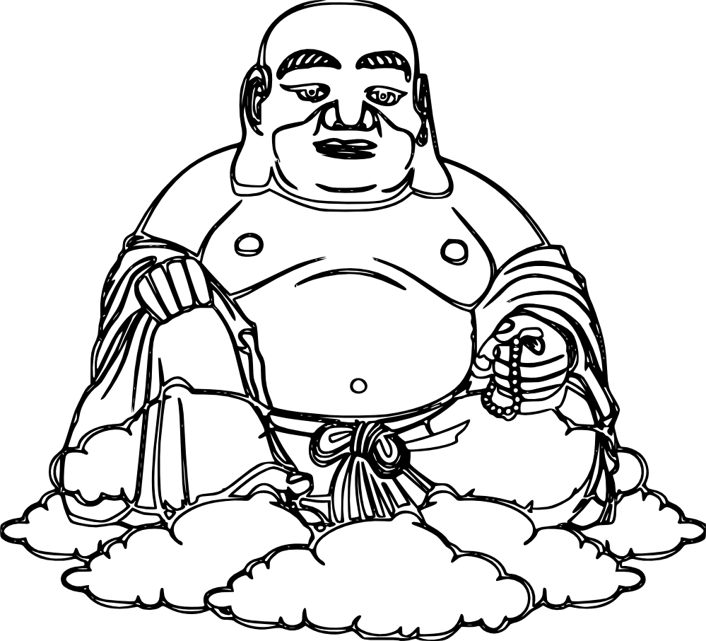 Buddha Coloring Pages - ClipArt Best