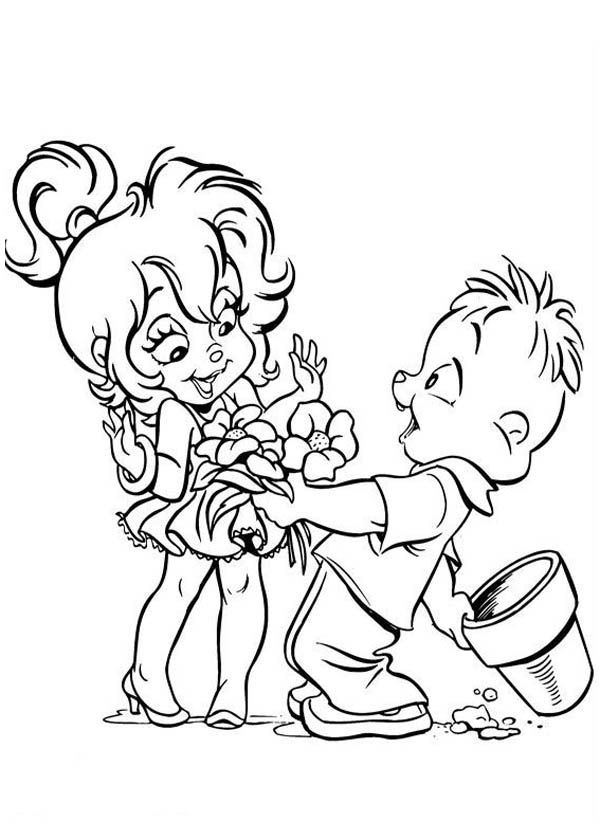 chipettes brittany coloring pages - photo#22