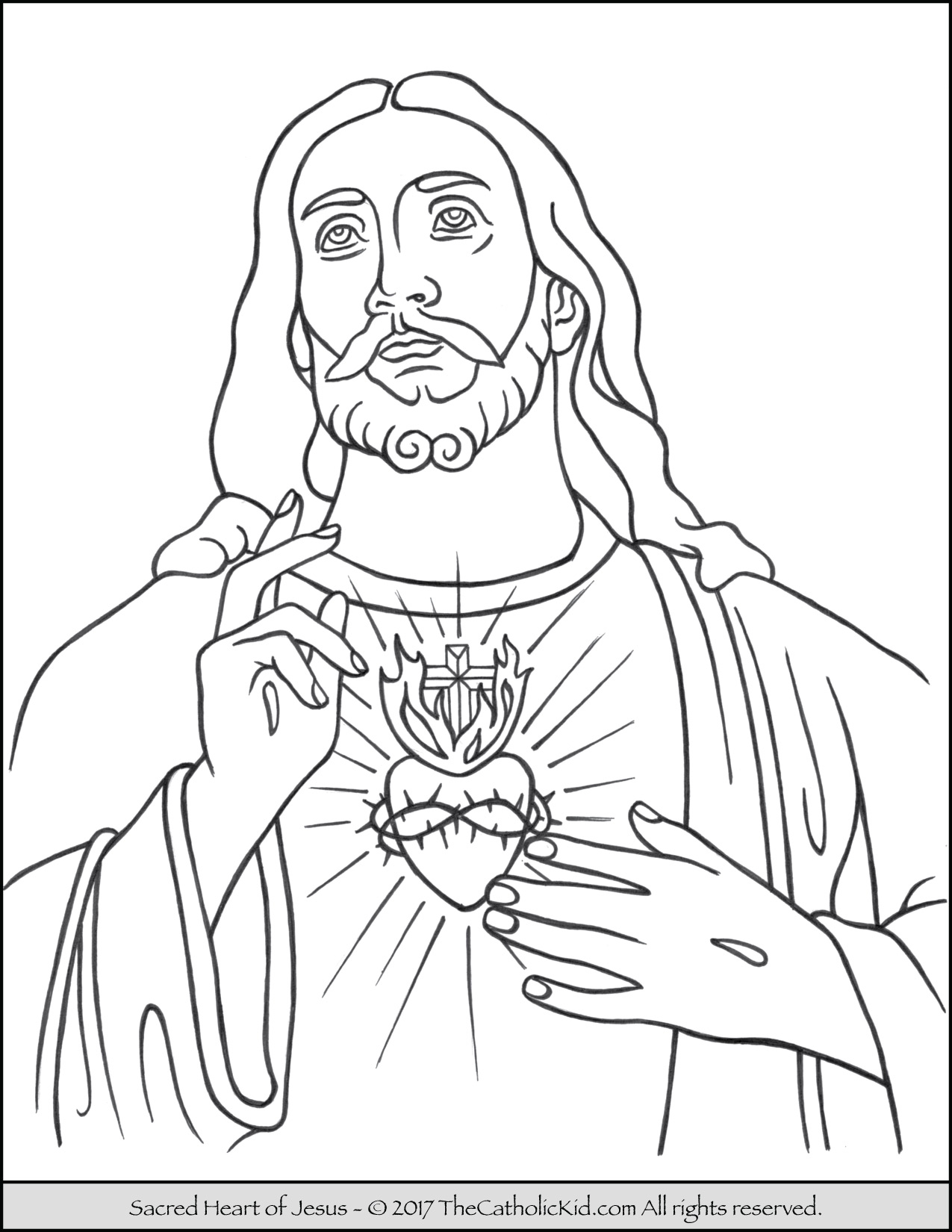 Jesus Coloring Pages - Coloring Home