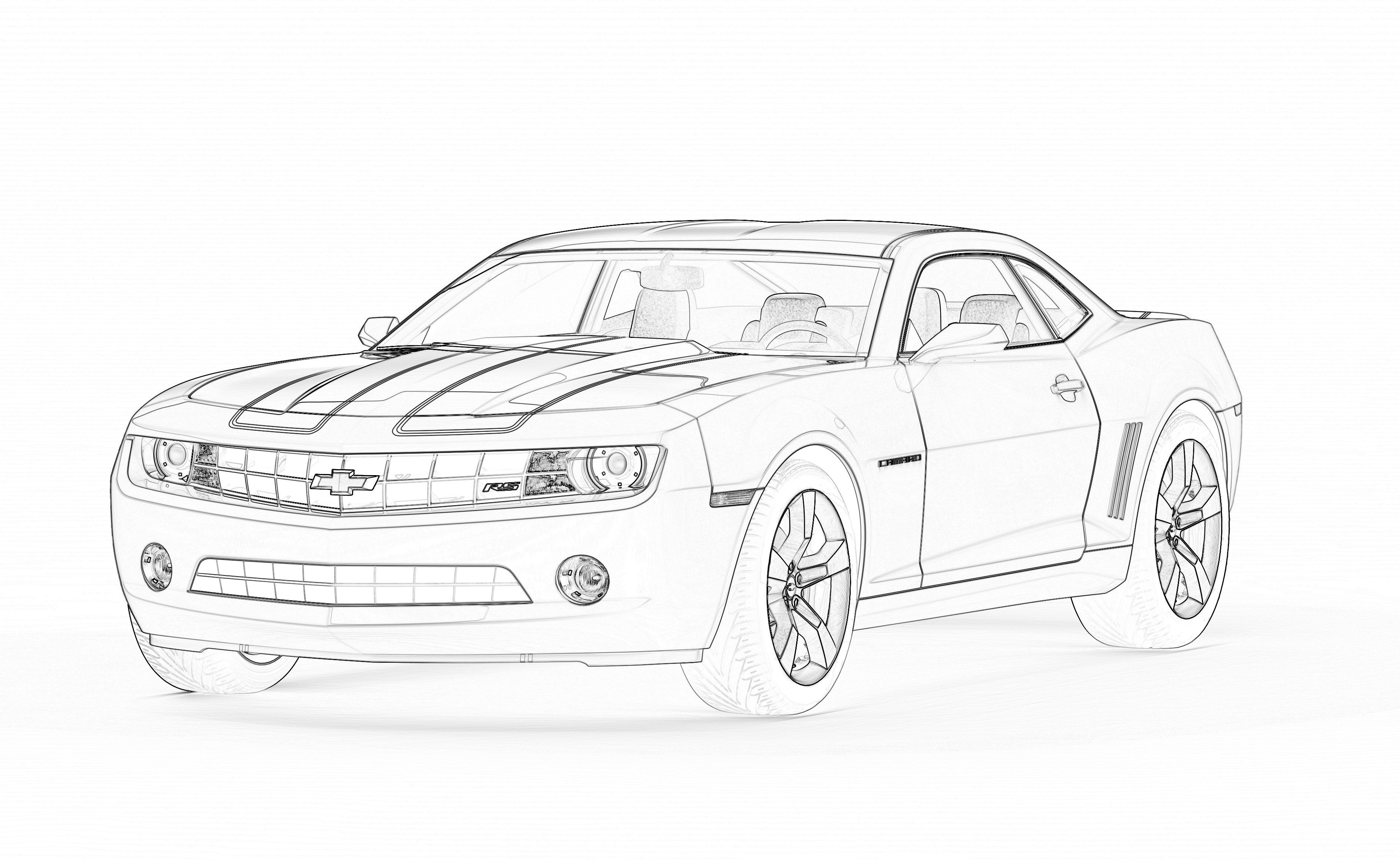 79 Z28 Camaro Coloring Pages Autos Post