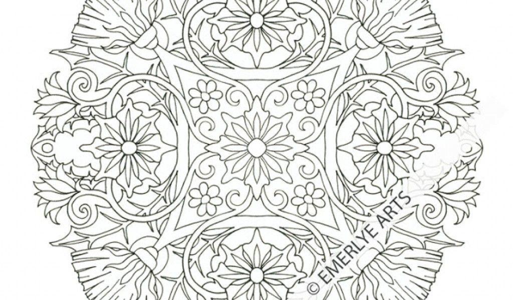Mandalas Printable Coloring Pages Coloring Home Mandala Coloring Pages For Boys Printable