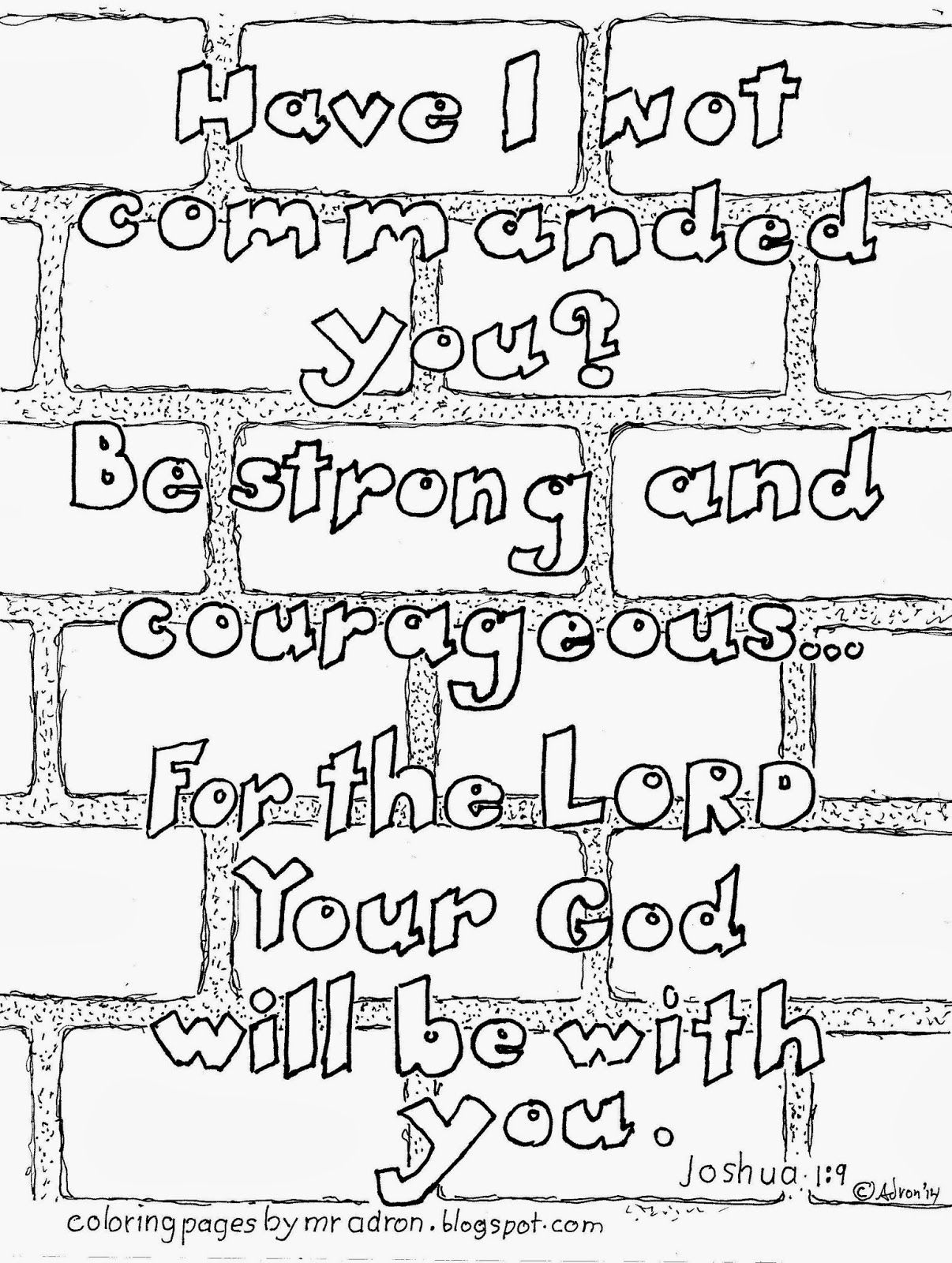 Coloring pages jericho wall coloring home for Walls of jericho coloring page