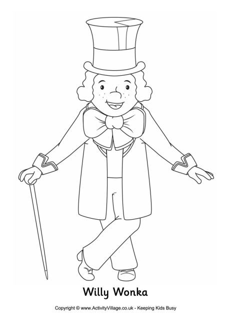 Charlie And The Chocolate Factory Coloring Pages And The Tr Coloring Page