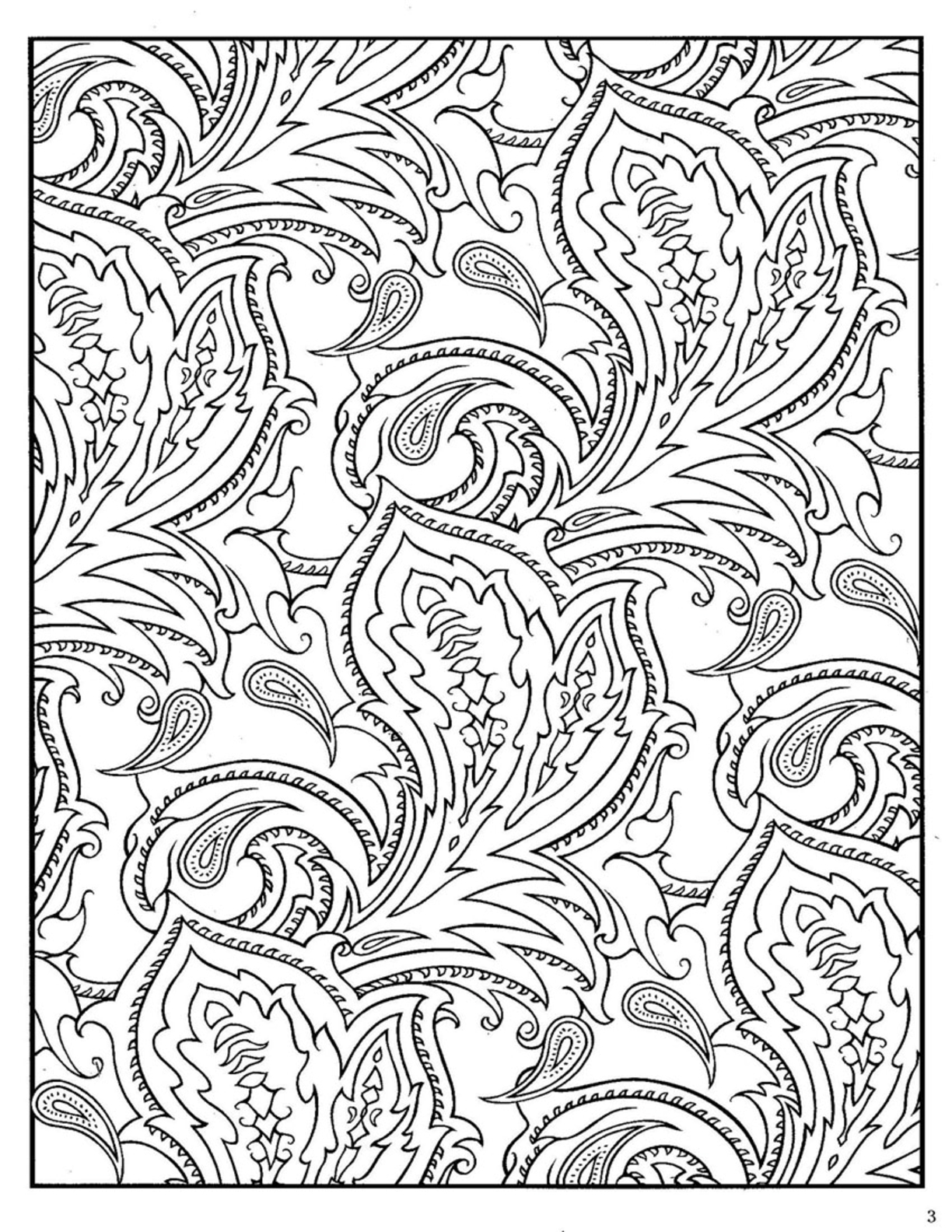 patterned designs coloring pages - photo#5