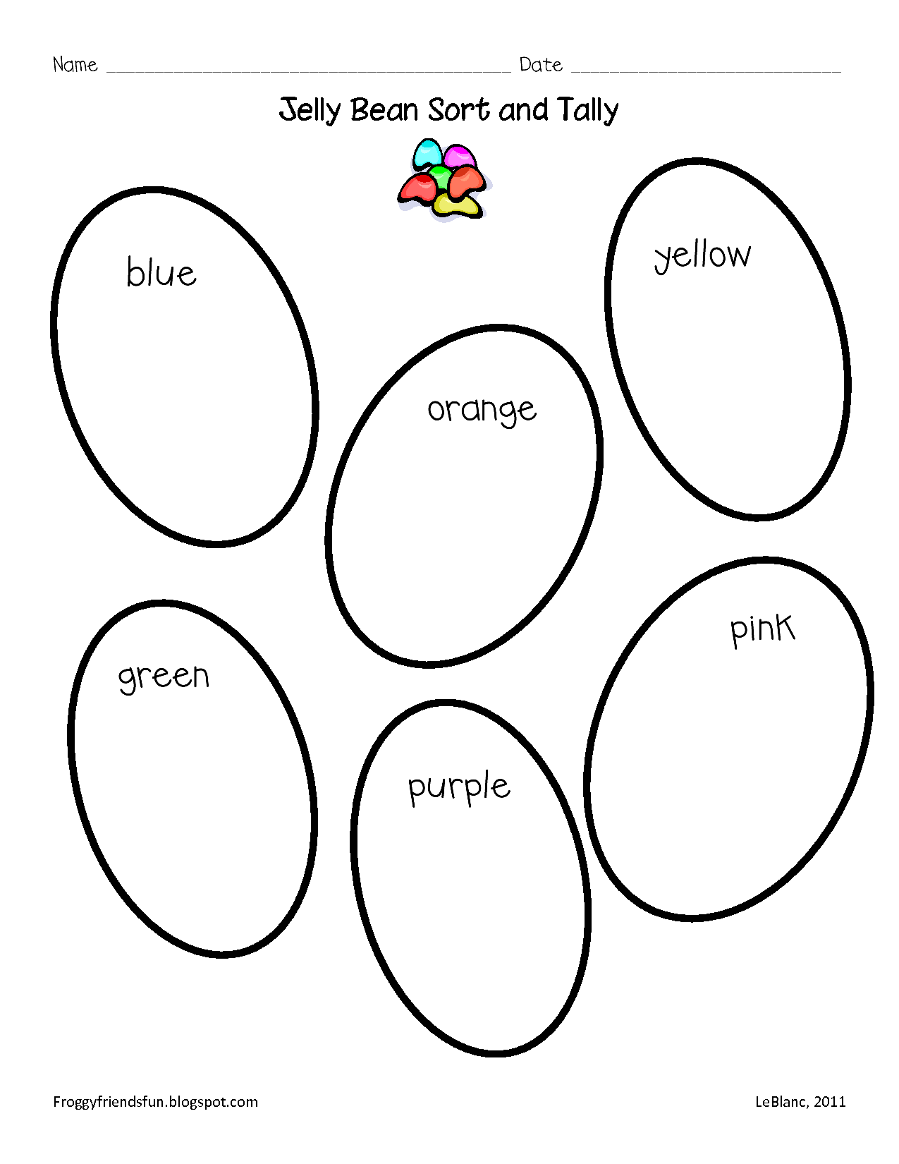 Jelly Beans Coloring Page - AZ Coloring Pages