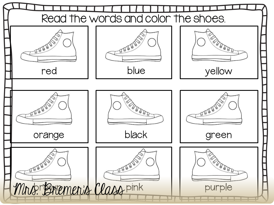 Pete The Cat Coloring Page Shoes - Coloring Page