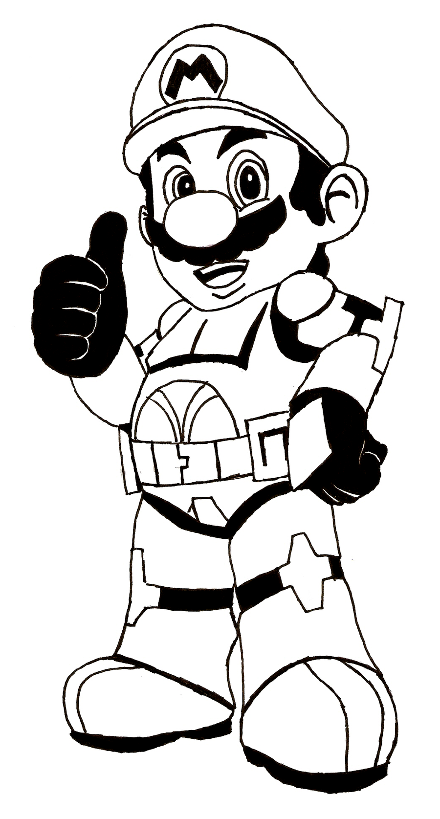 This is a graphic of Nerdy Printable Mario Coloring Pages