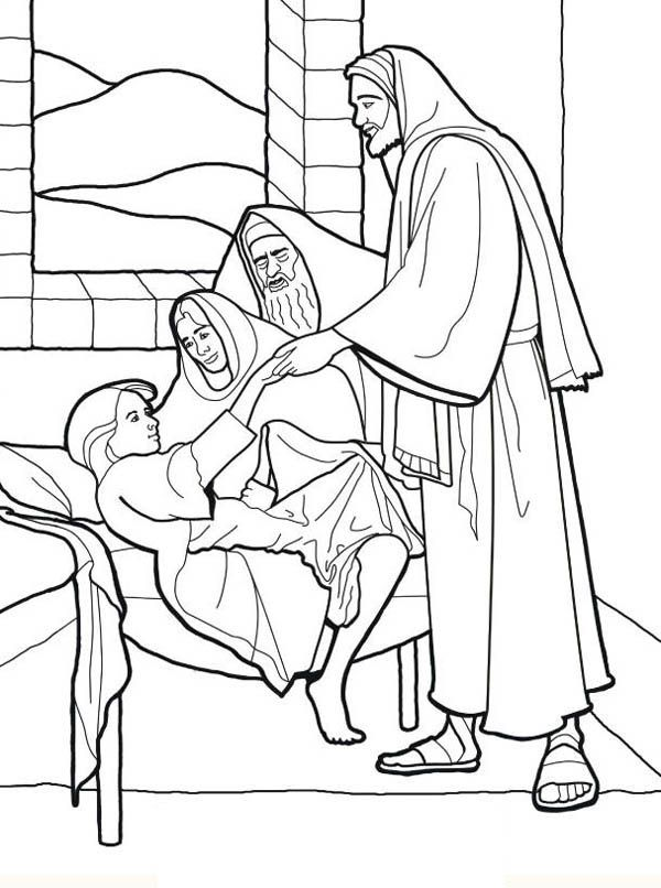 Sick Child Coloring Pages Coloring