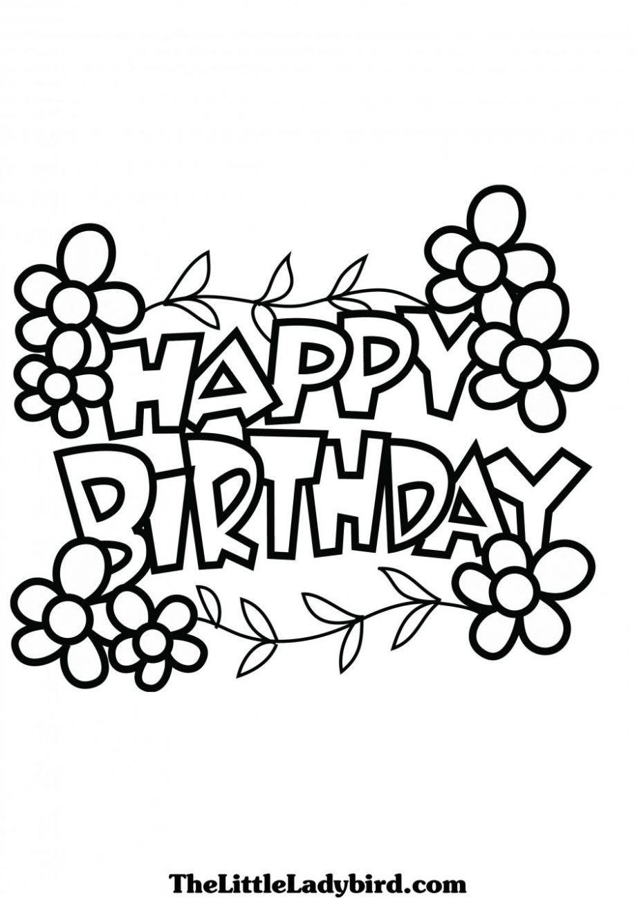 printable coloring pages happy birthday coloring pages for dad